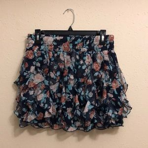 Polyester skirt, runs small